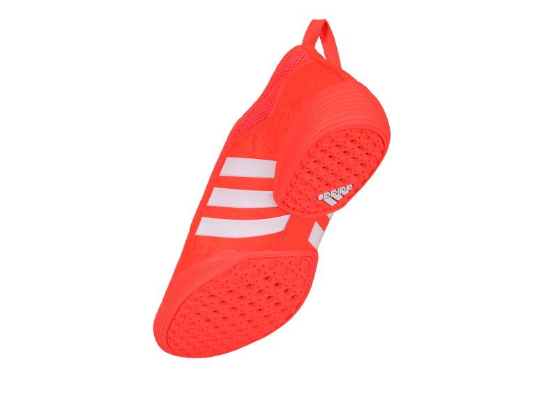 ddd7dec24c4 Adidas The Contestant Taekwondo Shoes Orange   White ADITBR01 TKD ...
