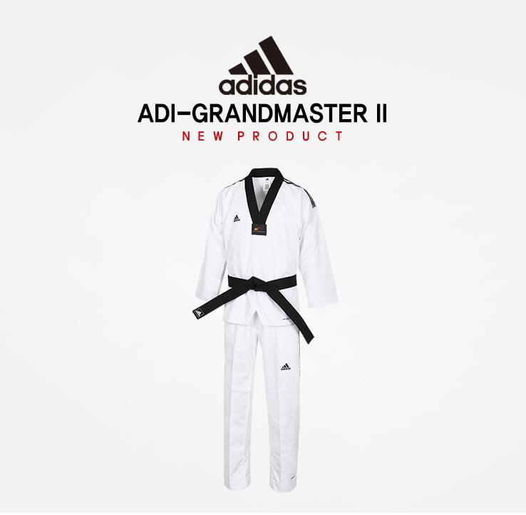 Otros lugares Autenticación cielo  Adidas ADI - GRAND MASTER 2 Taekwondo Dan Dobok